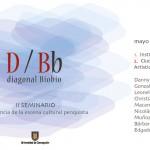 """Imagen """"2º SEMINARIO """"DIAGONAL BIOBÍO. EMERGENCIA DE UNA ESCENA CULTURAL"""""""