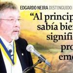 Imagen Dr. Edgardo Neira distinguido con nombramiento de Profesor Emérito