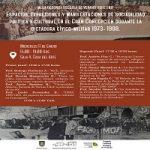 """Imagen """"Espacios, expresiones y manifestaciones de sociabilidad política y cultural en el Gran Concepción durante la dictadura cívico-militar 1973- 1988″"""