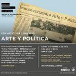 Imagen ACADÉMICA DEL PROGRAMA DE MAGÍSTER EN ARTE Y PATRIMONIO PARTICIPARÁ EN SEMINARIO: ARTE Y POLÍTICA.